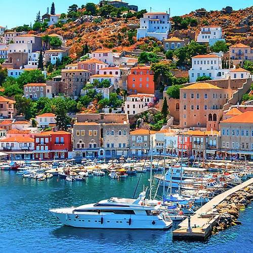 Saronic Gulf & Peloponnese